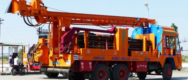 borewell digging rig in Maharashtra