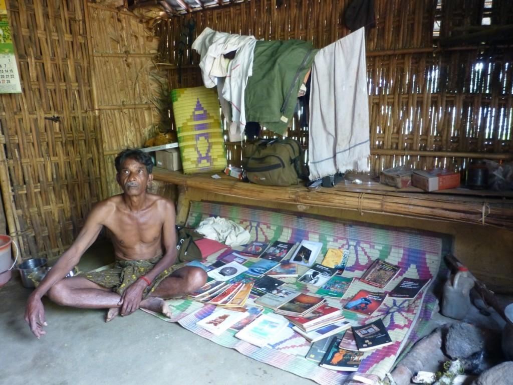 P.V. Chinnathambi, 73, Tea Vendor, Sports Club Organizer and Librarian