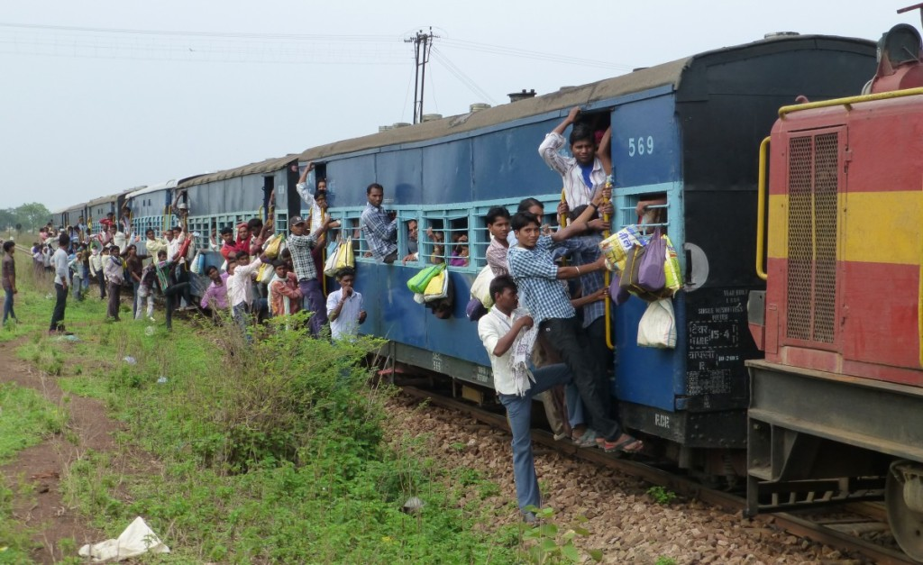 232 Down Dhamtari Passenger aka The Labour Train