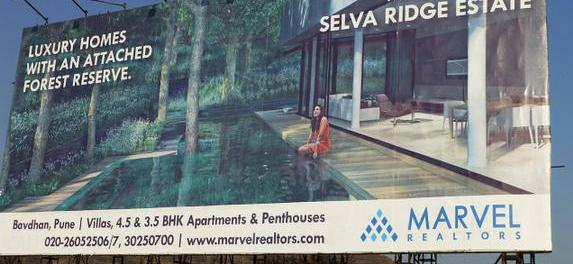 Luxury homes with attached forest reserve advertisement
