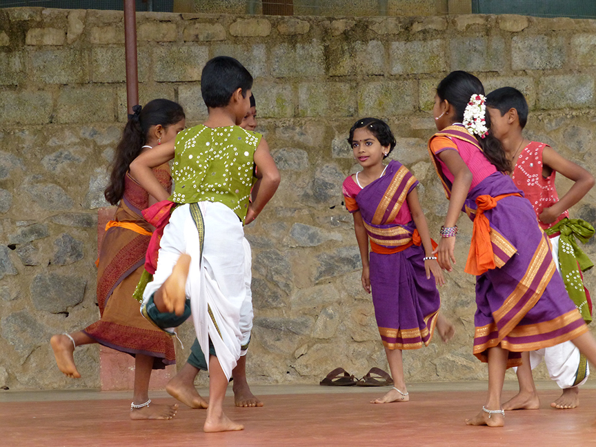 annual day dance at vidya vanam