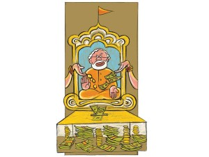 Modi and the money acche din