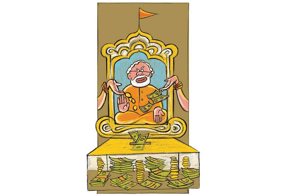Modi and the money acche din