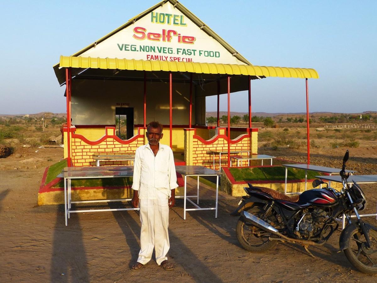 Rafiq Sheikh's Hotel Selfie on the highway